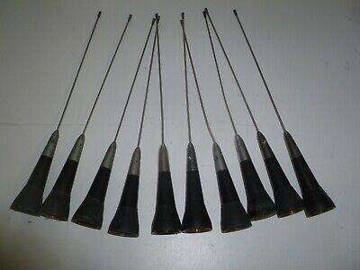 Lot Of Ten 450-470 Mhz Uhf Two Way Radio Antenna Lp5