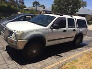 4x4 Holden rodeo dual cab 3ltr turbo diesel 2005 Bovell Busselton Area Preview