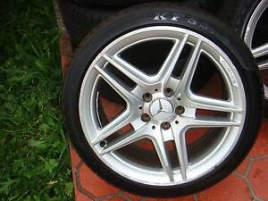 """Set of 18"""" Genuine Mercedes Benz AMG CLK350 Rims 5 x 112 PCD ! Green Valley Liverpool Area Preview"""