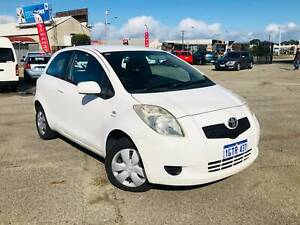2007 TOYOTA YARIS 3D HATCHBACK YR *MANUAL* 4CYL* LOW KM * Welshpool Canning Area Preview