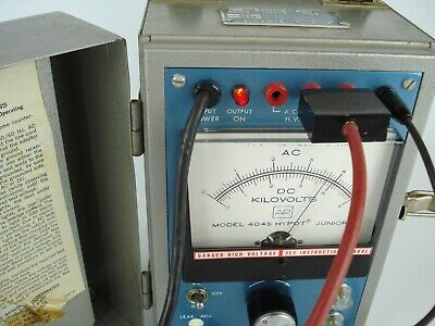Vintage Associated Research Hypot Tester Model 4045 Junior With Leads And Cables