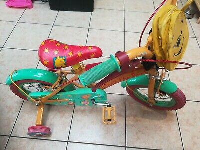 Toffe fiets 12 inch met steunwieltjes!  WINNIE DE POOH!