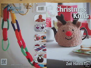 CHRISTMAS KNITS TEA COSIES DECORATIONS ETC KNITTING PATTERN   KING COLE BOOK 2