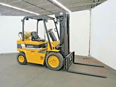 Daewoo Pneumatic Tire Forklift 5000 Lb. Capacity Lpg Id N-022