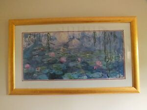 Framed Print of Monet Painting Newport Pittwater Area Preview