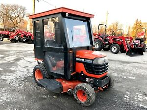 2003 Kubota BX1500 4WD Tractor with mower deck