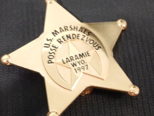 US MARSHAL POSSE RENDEZVOUS  USMS POLICE  # 99 POLICE LARAMIE WYO