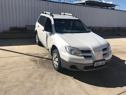 2005 Mitsubishi Outlander SUV Low Kms Best Available Victoria Park Victoria Park Area Preview