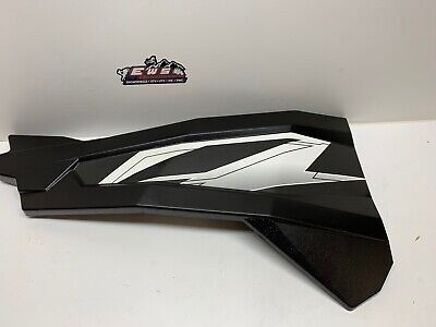 POLARIS RZR, ACE LEFT SIDE DOOR PANEL BLACK/WHITE