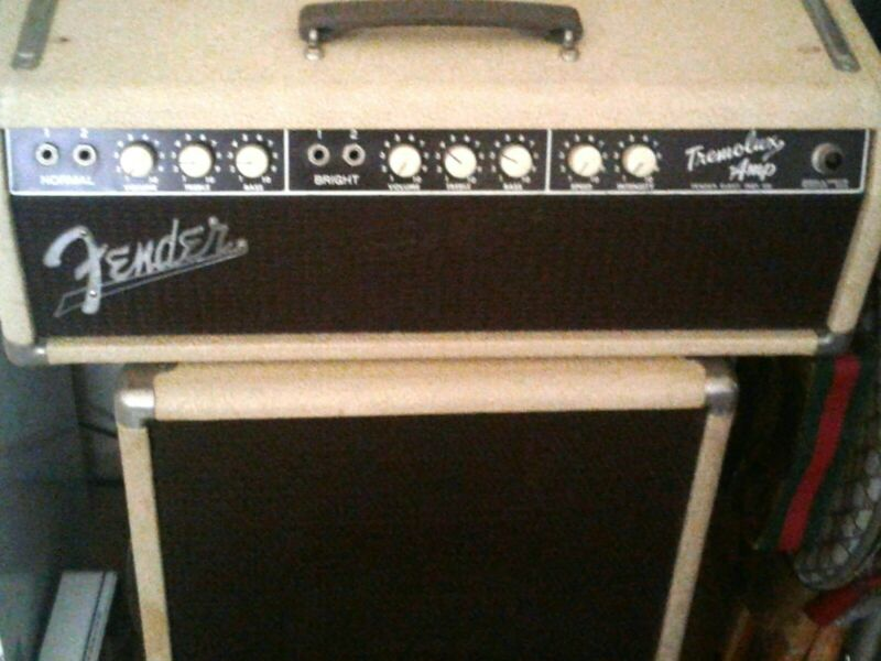 Fender Vintage 1961 Blonde Tremolux