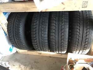 205 55 R16 Michelin X-Ice on steel rims