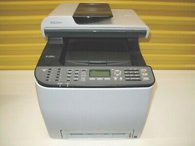 Ricoh Aficio Mfp Sp-c250sf All-in-one Color Laser Multifunction Printer Copier