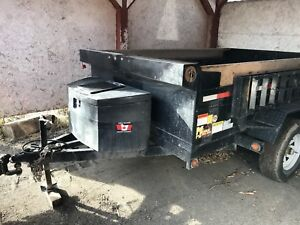 Miska 5 ton dump trailer for sale