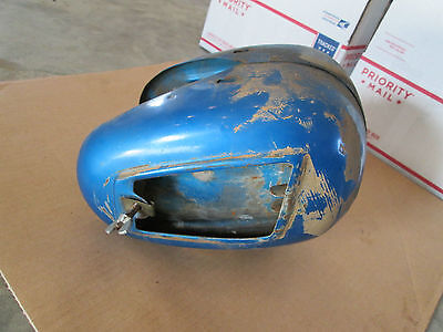 1971 Benelli Cougar 65cc 65 tool box toolbox frame cover side covers