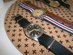 VINTAGE  WATCH SALE  SEIKO   OMEGA  CITIZEN MIDO    LONGINES Marsfield Ryde Area Preview