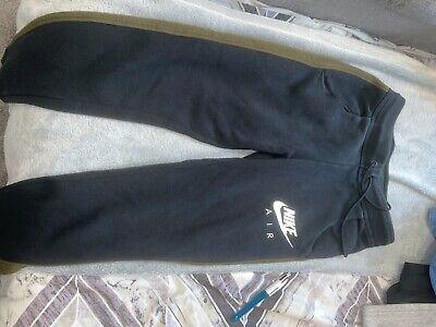 *Nike Air Ladies black and khaki Lounge Pants Joggers Size XS*