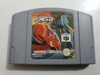 Extreme-G 2 XG2 PAL EUR Nintendo 64 N64 SOLO CARTUCHO LEER