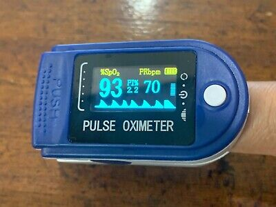 Fdace Finger Tip Pulse Oximeter With 2 X Aaa Free Batteries