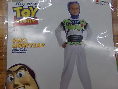 Disguise Disney Toy Story Buzz Lightyear Halloween Costume Boys Small 6 NEW - Buzz Lightyear Halloween Costume