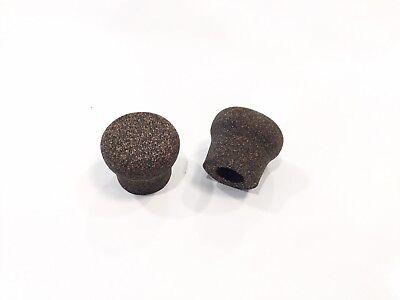 Cork Rings Rubberized Butt Cap, One Butt Cap