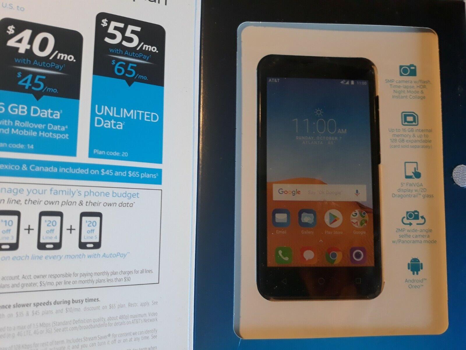 Alcatel Tetra 16GB GSM Unlocked