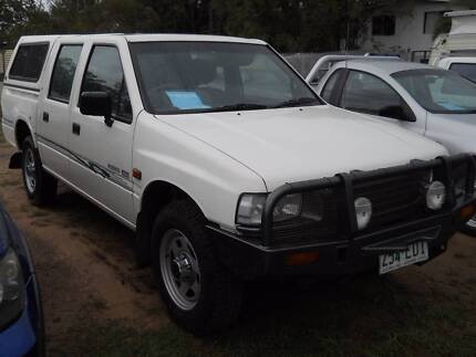 Turbo Diesel 4X4 1995 Holden Rodeo Dual Cab - excellent condition