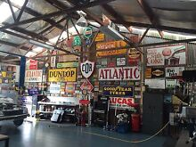 _*_*_*_* Wanted *_*_*_* to buy enamel signs petrol bowser oil tins Buderim Maroochydore Area Preview