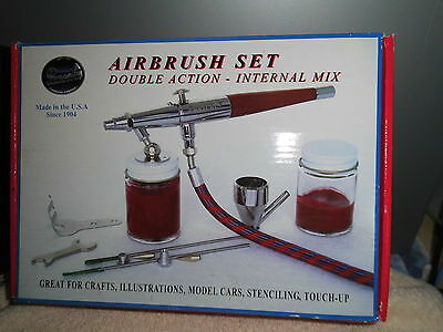 VLS set, double action, Paasche airbrush gun