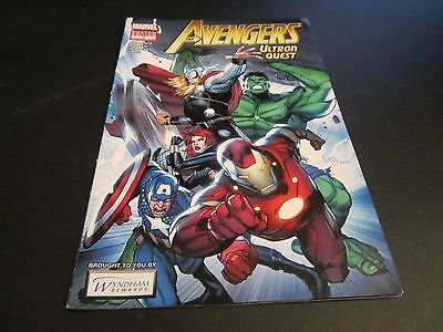 Avengers  Ultron Quest Rare Wyndham Rewards Giveaway Edition