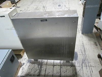 Stainless Steel Pedestal Enclosure Type 4x Size 36x36x8 Used