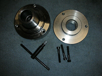 New Atlas Craftsman 9-12 Inch Lathe 5c Collet Chuck With 1 12-8 Backing Plate