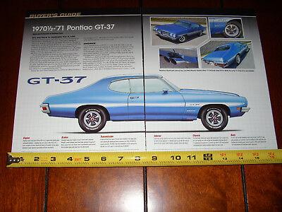 1970 1 2   1971 Pontiac Gt 37   Original 2009 Article