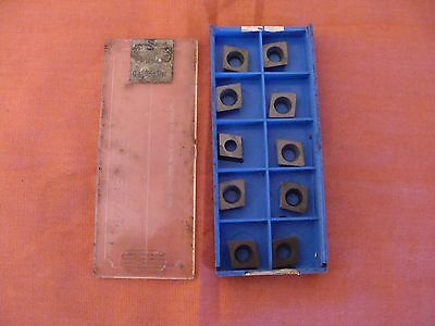 New Old Stock Valenite Cpmw32.52t Carbide Inserts Lot Of 10