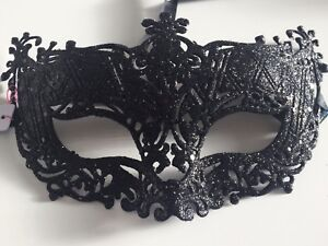 masquerade masks, Stay, Hen Party, prom, fancy dress, Black, Filigree, Christmas
