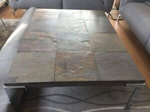 SLATE SOFA COFFEE TABLE