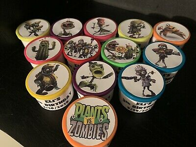 16 Plants VS Zombies Birthday Party Favors Gifts](Zombie Party Favors)