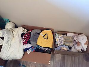 Huge lot of baby boy clothes