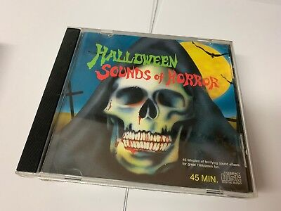 HALLOWEEN SOUNDS OF HORROR: VINTAGE 1995 HAUNTED HOUSE SOUND EFFECTS RARE  ()