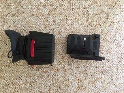 Zacuto eye finder for Canon 5D