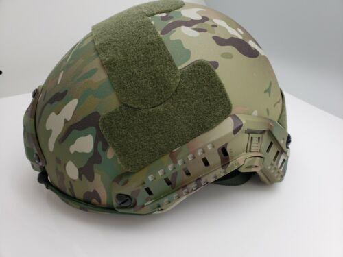 CAMO BALLISTIC Helmet Military Level IIIA FAST Helmet LARGE