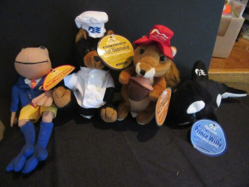 Princess Cruises Beany Collection, Lot of 4; New with Tags