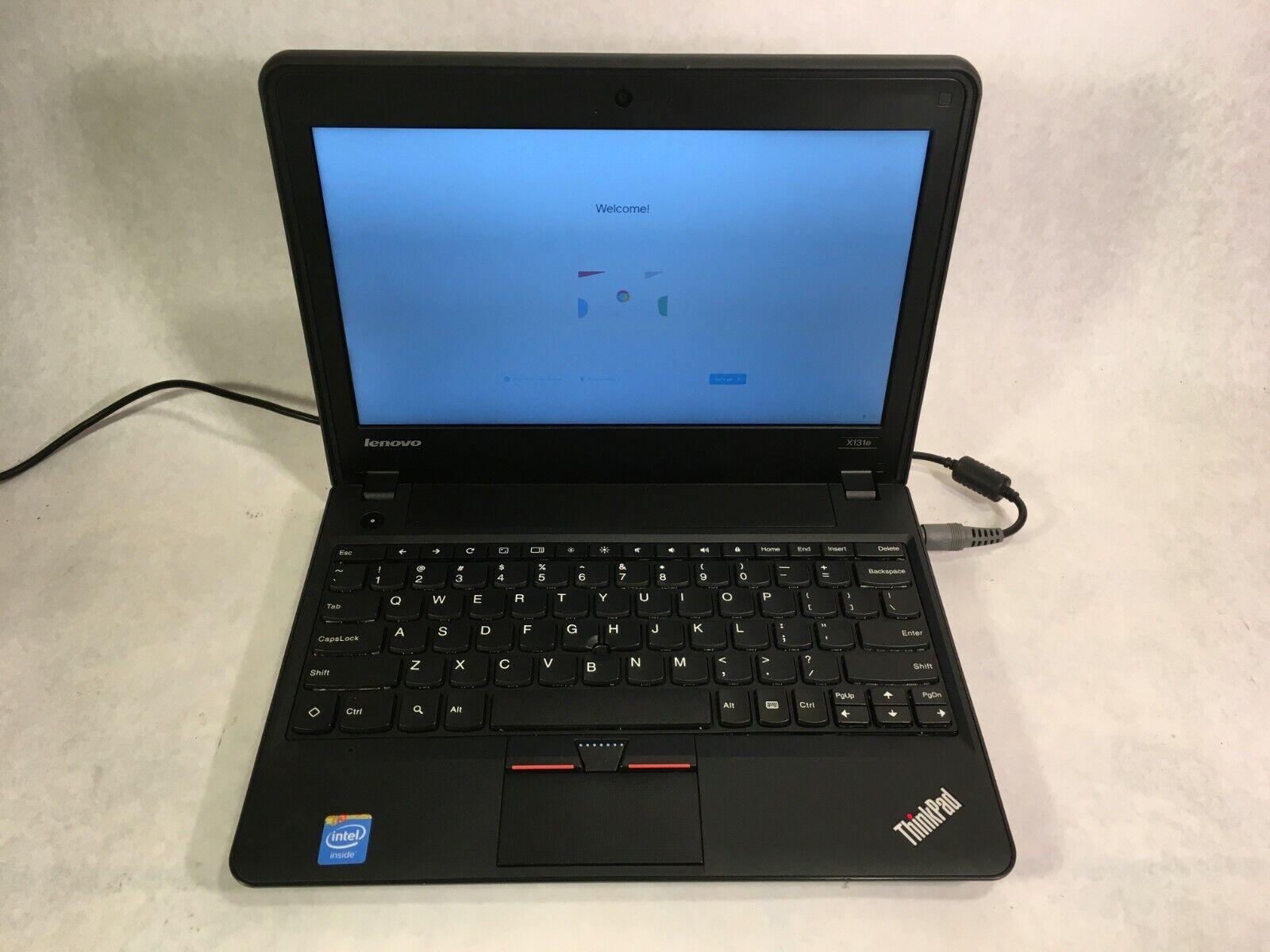 "Lenovo ThinkPad x131e Chromebook 11.6"" Intel Celeron 1.5GHz"