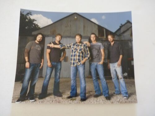 Randy Rogers Band Country Music 8x10 Color Promo Photo