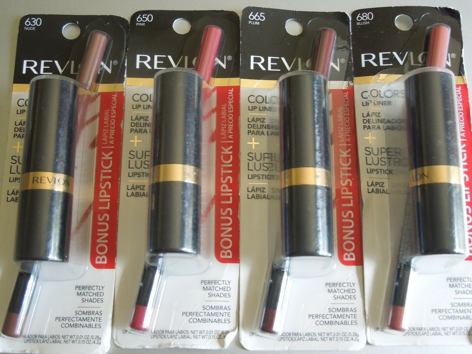 Revlon ColorStay Lip Liner with Bonus Lipstick ~ Choose From