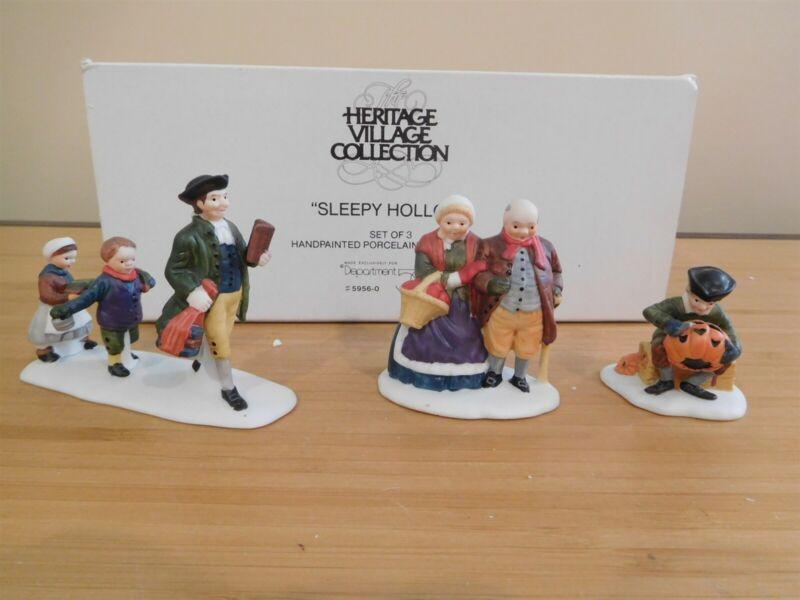 Dept 56 New England Village - Sleepy Hollow - Set of 3 - Free Shipping