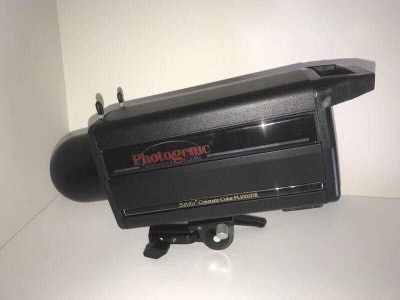 Excellent!!! Photogenic PL2500DRC Solair 1000W/s Monolight