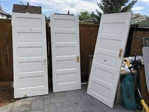 "Old Doors - Make me an offer - 77 1/4"" high x 29 5/8"" wide"