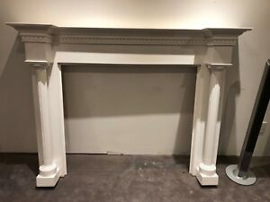 Fireplace Mantel Classic White
