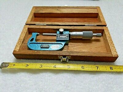 Fowler 52-226-104 Point Micrometer 3-4/""