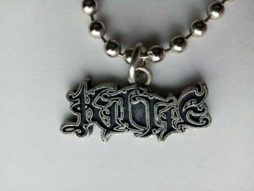 KITTIE CHOKER NECKLACE  Band Logo  heavy metal music vintage
